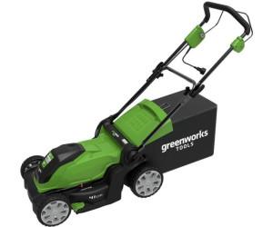 greenworks elektro rasenm her 41 cm 2505207 ab 136 81 preisvergleich bei. Black Bedroom Furniture Sets. Home Design Ideas
