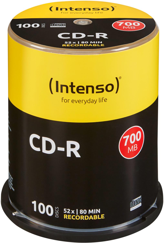 Intenso CD-R 700MB 80min 52x 100er Spindel