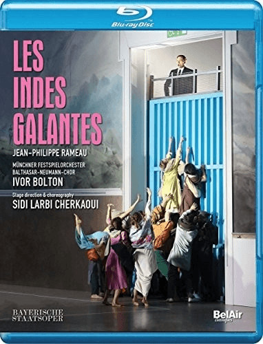 Image of Rameau: Les Indes Galantes [Lisette Oropesa; Goran Juric; Ivor Bolton] [Belair Classiques: BAC438] [Blu-ray] [Region A & B & C]