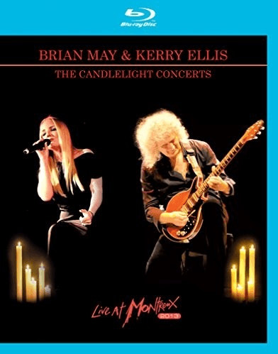 Image of Brian May & Kerry Ellis The Candlelight Concerts Live At Montreux 2013 [Blu Ray + CD] [Blu-ray] [2014]