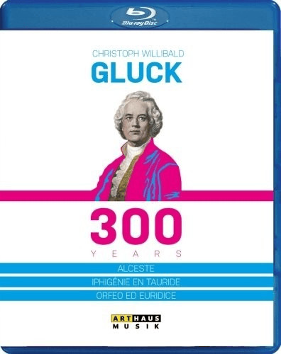 Image of Gluck: 300 Years [Constantinos Carydis, Wiliam Christie, Hartmut Haenchen] [Blu-ray] [2014]