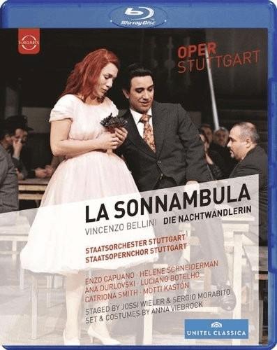 Image of Bellini: La Sonnambula [Enzo Capuano, Helene Schneiderman, Ana Dulovski] [Blu-ray] [2013] [Region Free]