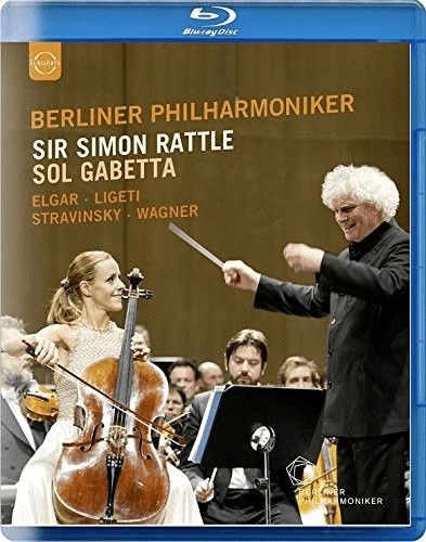 Image of Berliner Philharmoniker - Sir Simon Rattle and Sol Gabetta (Blu ray) [Blu-ray] [2016]