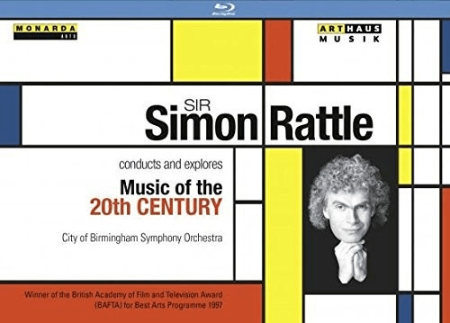 Image of Berg - Sir Simon Rattle conducts and explores Music of the 20th Century [Blu-ray]