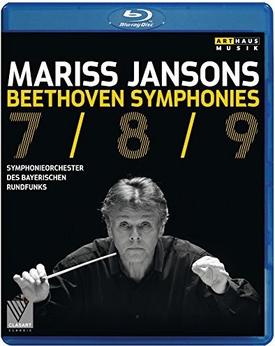 Image of Beethoven - Beethoven:Symphonies 7,8 & 9 [Symphonieorchester des Bayerischen Rundfunks ,Mariss Jansons] [Arthaus: BLU RAY] [Blu-ray]