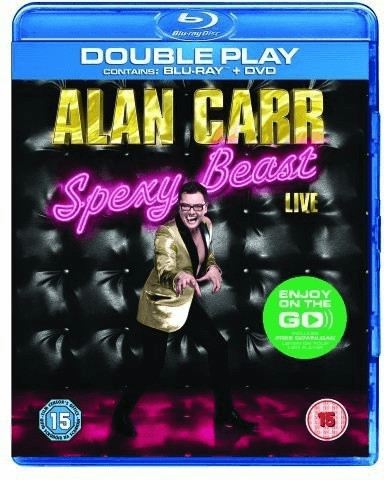 Image of Alan Carr Spexy Beast Live - Double Play (Blu-ray + DVD)