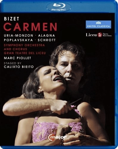 Image of Bizet:Carmen [Béatrice Uria-Monzon; Symphony Orchestra of the Gran Teatre del Liceu,Marc Piiollet] [C Major Entertainment: BLU RAY] [Blu-ray]