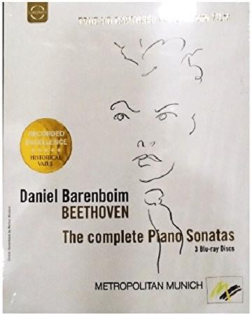 Image of Beethoven: Complete Piano Sonatas (Sonatas Recorded In Vienna 1983-84) (Daniel Barenboim) (Euroarts: 2066424) [Blu-ray] [2012] [Region Free]
