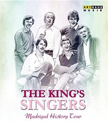 Image of King's Singers - Madrigal History Tour [The Kings Singers; The Consort of Musike: Anthony Rooley] [ARTHAUS: BLU RAY] [Blu-ray] [2015]