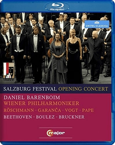 Image of Beethoven - 2010 Salzburg Festival Opening Concert [Blu-ray] [2011] [Region Free]