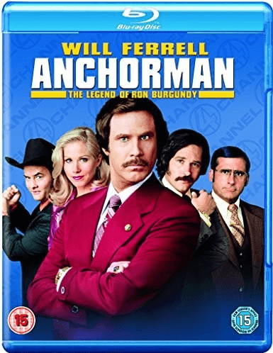 Image of Anchorman: The Legend of Ron Burgundy [Blu-ray] [2004] [Region Free]