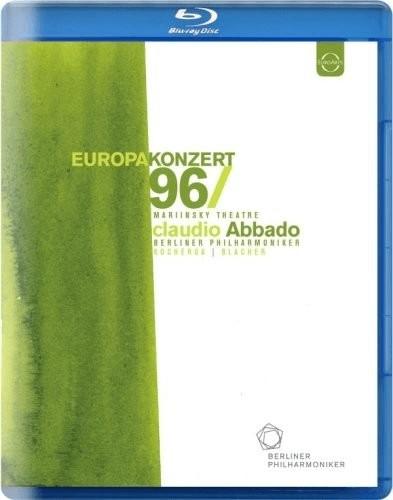 Image of Europakonzert1996 Petersburg [Claudio Abbado, Kolja Blacher; Anatoly Kocherga; Berliner Philarmoniker] [EUROARTS: BLU RAY] [Blu-ray] [2015] [Region A & B & C]