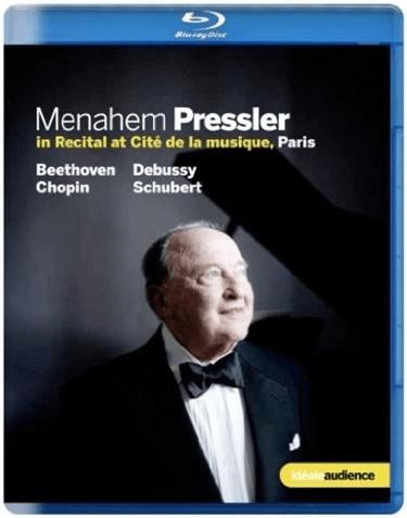 Image of Menahem Pressler In Recital (Piano Recital Paris 2011) (Euroarts: 3079664) [Blu-ray] [2012] [2014] [Region Free]