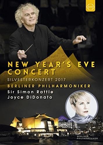 Image of Berliner Philharmoniker, Simon Rattle Joyce DiDonato - New Year's Eve Concert (Silvesterkonzert 2017) - BluRay [Blu-ray] [2018]