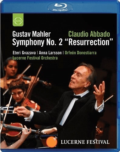 Image of Mahler: Symphony No.2 [Blu-ray] [2010] [Region Free]