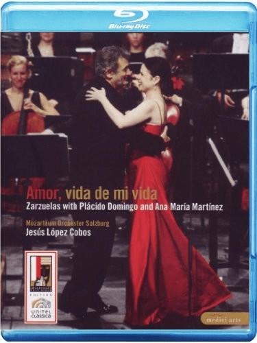 Image of Placido Domingo - Amor, Vida de Mi Vida - Zarzuelas with Placido Domingo and Ana Maria Martinez [Blu-ray [Region 0] [2007] [2009]