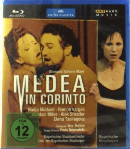 Image of Mayr: Medea in Corinto [Blu-ray] [2011]