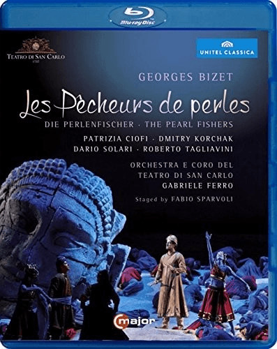 Image of Bizet : Les Pêcheurs de perles - Die Perlenfischer / The Pearl Fishers [Blu-ray] [2014] [Region Free]