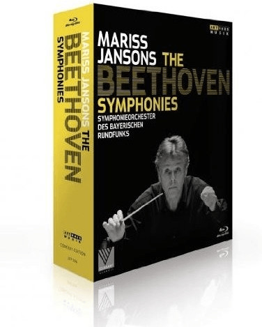 Image of Beethoven: Complete Symphonies [Mariss Jansons, Bavarian Radio Symphony Orchestra] [Arthaus: 107536] [Blu-ray] [2013]
