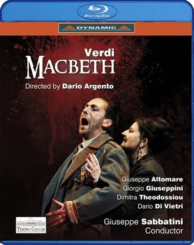 Image of Verdi:Macbeth [Giuseppe Sabbatini, Various] [DYNAMIC: BLU RAY] [Blu-ray] [2015]