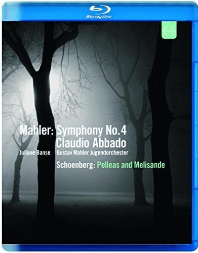 Image of Mahler: Symphony No 4 | Pelleas and Melisande Op.5 [Claudio Abbado, Juliane Banse] [Euroarts: 2055484] [Blu-ray] [2013] [Region A & B & C] [NTSC]