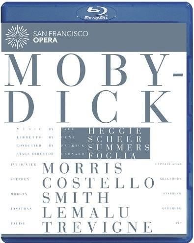 Image of Heggie: Moby-Dick [Jay Hunter Morris, Stephen Costello, Morgan Smith] [Euroarts: 2059654] [Blu-ray] [2013]