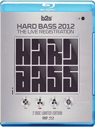 Image of Various - Hard Bass 2012 The Live Registration (DVD+Bluray) [Blu-ray]
