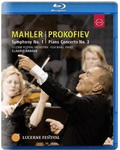 Image of Mahler; Prokoviev: Lucerne Festival: Mahler: Symphony No. 1; Prokofiev: Piano Concerto No.3) [Blu-ray] [2010] [Region Free] [NTSC]