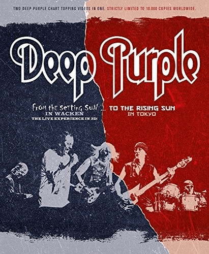 Image of Deep Purple: From The Setting Sun In Wacken... To The Rising... [Blu-ray]