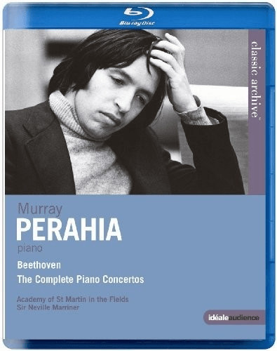 Image of Beethoven: Murray Perahai [Murrey Parahia] [Blu-ray] [2014]
