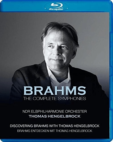 Image of Brahms - Brahms: The Complete Symphonies [NDR Elbphilharmonie Orchester; Thomas Hengelbrock] [C Major Entertainment: 741104] [Blu-ray]
