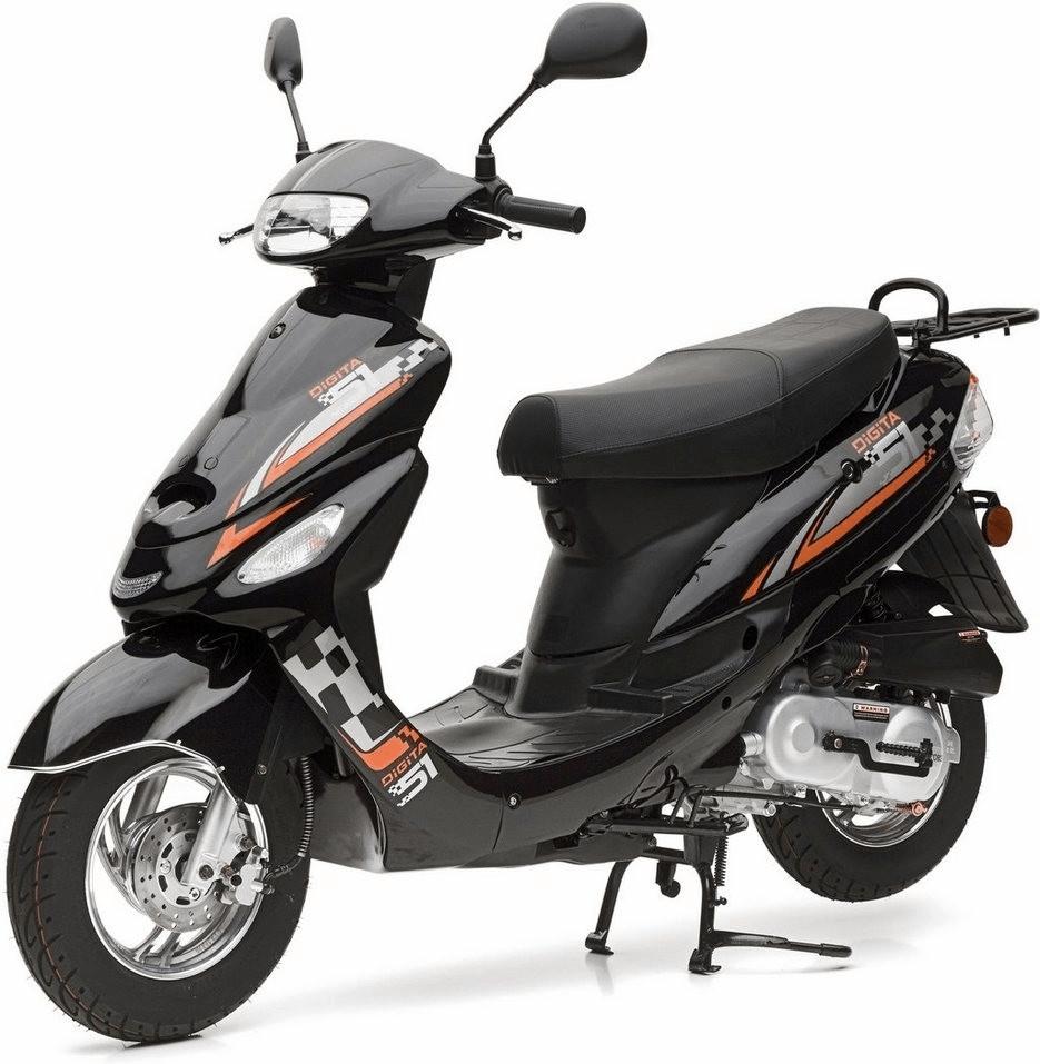 Nova Motors City Star IE (45 km/h) schwarz/orange
