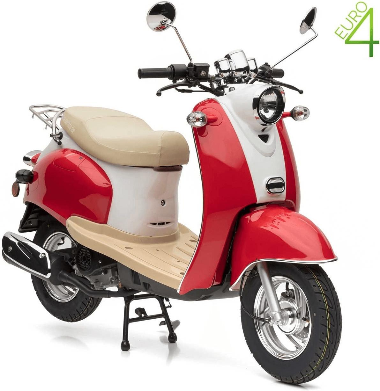 Nova Motors Retro Star ie 50 (45km/h) rot/weiß
