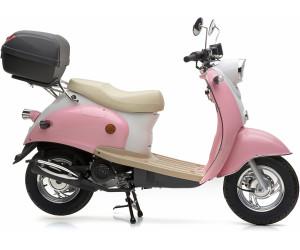 nova motors retro star ie 50 touring 25km h pink wei ab. Black Bedroom Furniture Sets. Home Design Ideas