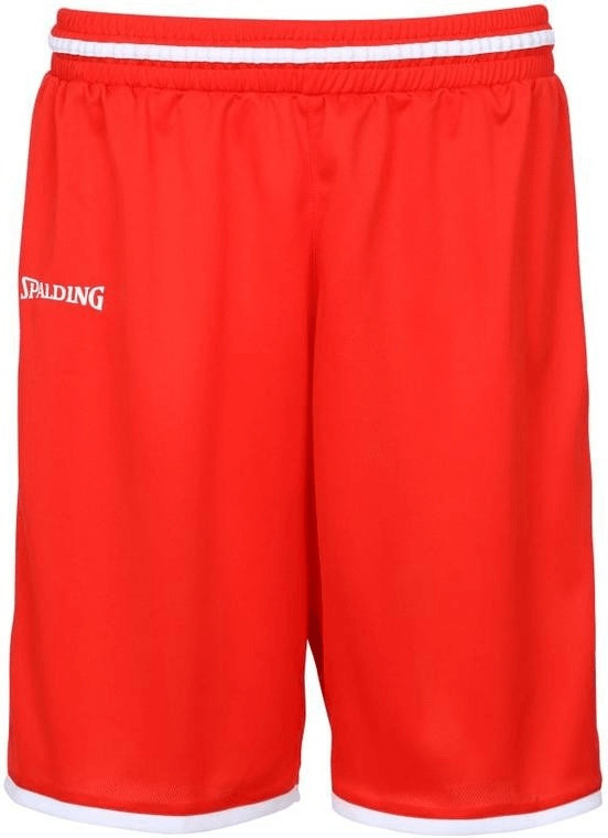 Spalding Move Shorts red/white