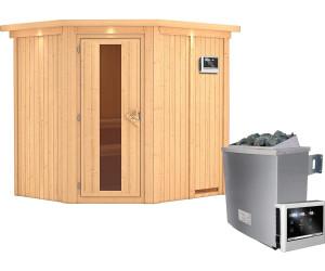 karibu siirin 9 kw ofen mit externer steuerung dachkranz. Black Bedroom Furniture Sets. Home Design Ideas