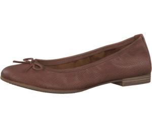 Tamaris Damen 22116 Ballerinas, Pink (Rose Leather), 35 EU