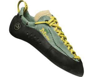 La Sportiva Kletterschuh Mythos Eco Women Schuhfarbe - Green Bay, Schuhgröße - 37,5, Schuhkategorie - Klettern, Schuhverschluss - Schnürer,