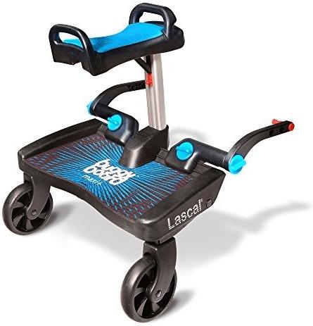 Lascal BuggyBoard Maxi Plus mit Sattel Blau