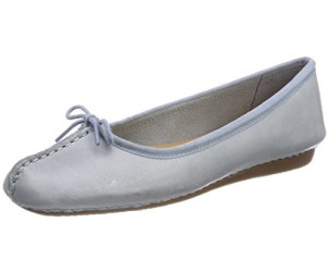 Clarks Damen Freckle Ice Geschlossene Ballerinas, Blau (Blue Grey), 39.5 EU