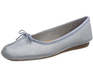 Clarks Damen Freckle Ice Geschlossene Ballerinas, Blau (Blue Grey), 40 EU