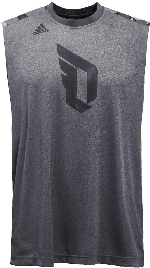 Adidas Dame Sleeveless Shirt grey/utility black