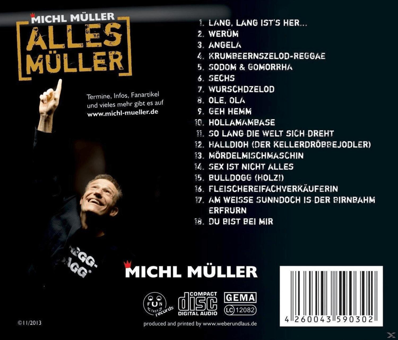 Michl Müller - Alles Müller - (CD)