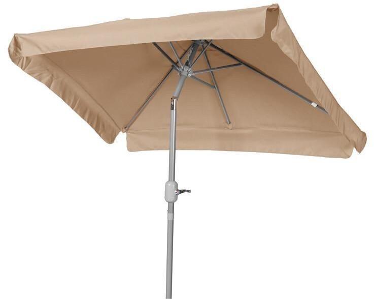 Merxx Sonnenschirm 120 x 190 cm beige