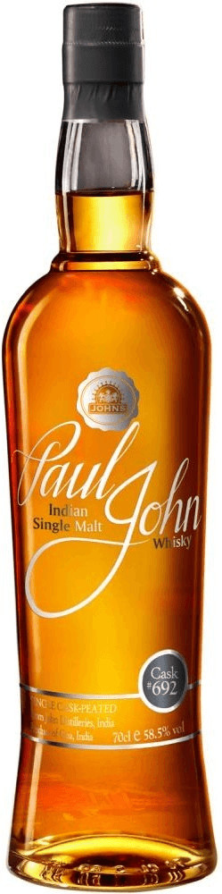 Paul John 692 Cask Indian Single Malt Whisky 0,...