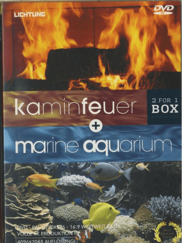 Kaminfeuer & Marine Aquarium [DVD]