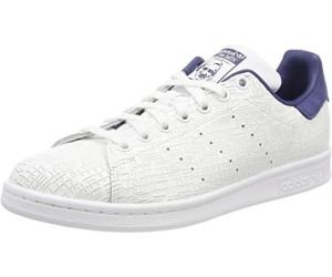 adidas Stan Smith, Baskets Femme, Blanc (Footwear White/Footwear White/Noble Indigo 0), 37 1/3 EU