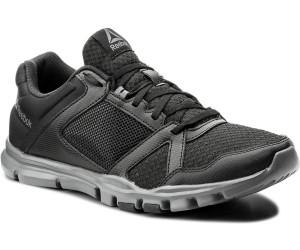 YOURFLEX TRAIN 10 MT - Zapatillas de entrenamiento - black/white/alloy bfxnMoS18