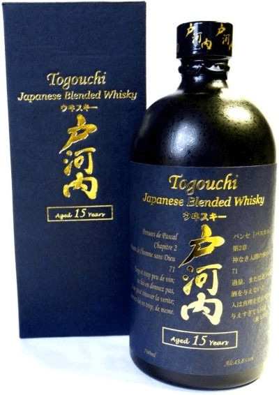 Togouchi 15 Years Old Japanese Blended Whisky 0...