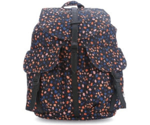 Herschel Dawson XS black mini floralblack synthetic leather